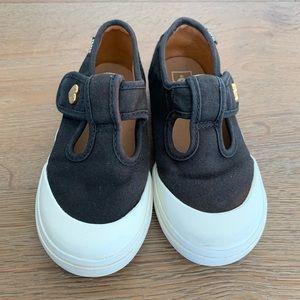 7830f5779a Vans Toddler Heart Leena Black Mary Jane Shoes
